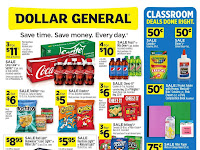 Dollar General Ad August 2 - 8, 2020 and 8/9/20