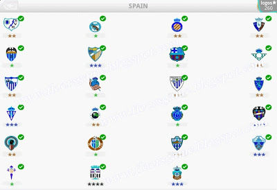Logo Quiz Football Clubs Spain Level 3