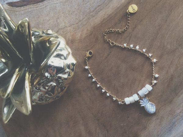 Hokee Paris Bracelet Melo de la Collection Nacre