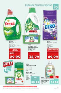 Catalogul KAUFLAND  10 - 16 iulie 2019 reduceri detergent lichid persil