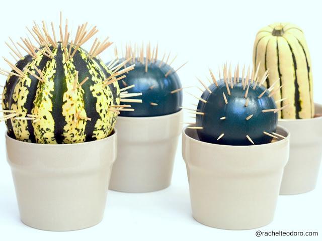 fall, halloween, handmade, succulent, cacti, modern