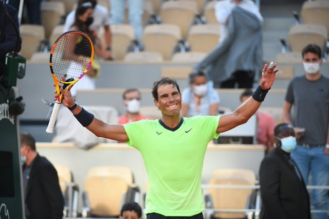 Rafael Nadal segue sem perder set em Roland Garros