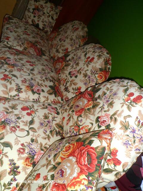 nowe obicie na poduszki
