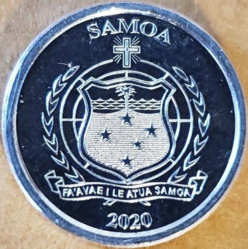 Samoa 1 sene 2020 - Birds types - common side