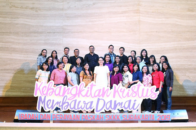 Dokumentasi Paskah SMP Kristen Kalam Kudus Surakarta 2019
