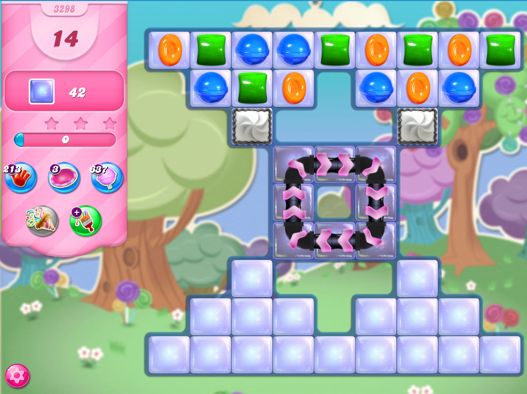 Candy Crush Saga level 3298