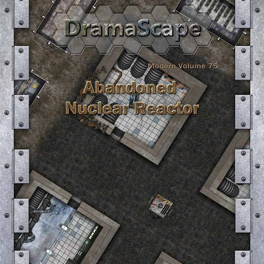 [DramaScape] Abandoned Nuclear Reactor w/33% off coupon link that expires 6/24/2018