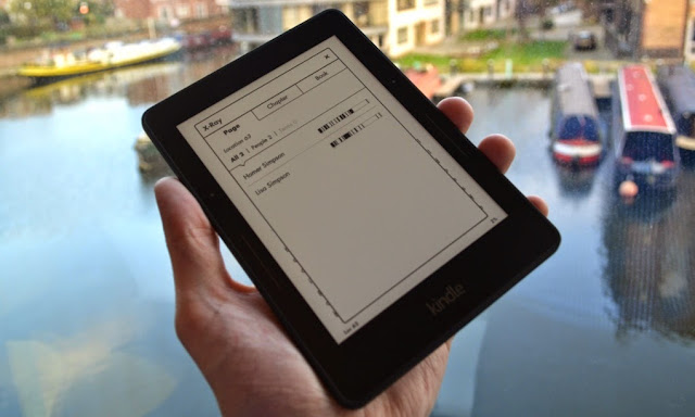 Kindle is light weight and easy to carry with you