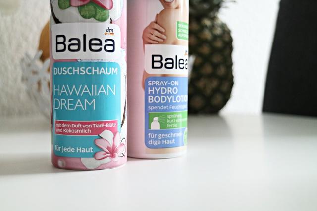 balea Hawaiian Dream Duschschaum &Spray - on Hydro Bodylotion