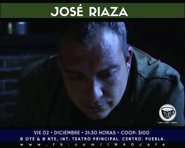 José Riaza en Puebla