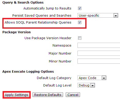 Salesforce | What is the governor limits of sub query in