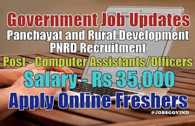 PNRD Recruitment 2021