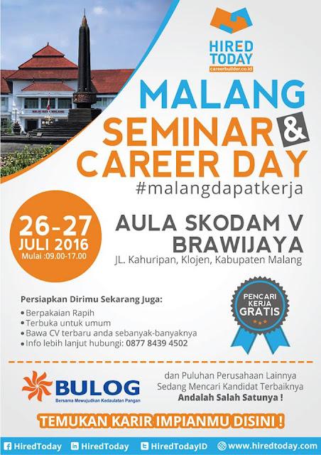 Job Fair Malang Aula Skodam V Brawijaya