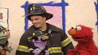 Sesame Street Elmo's World Firefighters