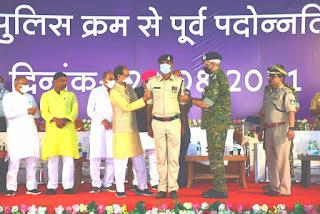 बालाघाट और मंडला जिले के 51 पुलिस जवानों को मिला प्रमोशन