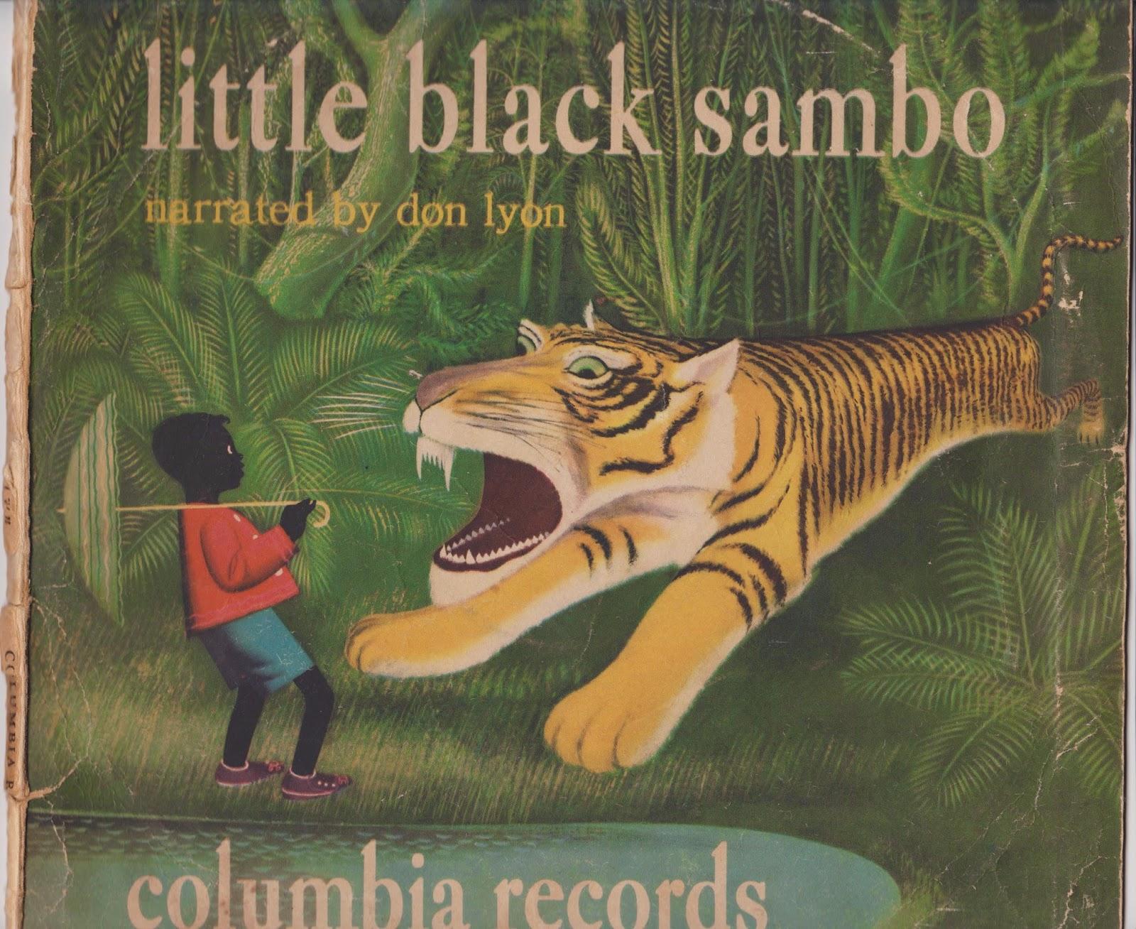 LATELIFE MUSINGS...: LITTLE BLACK SAMBO