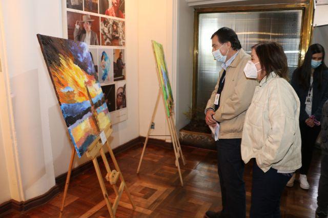 Exposición en el Centro Cultural Osorno