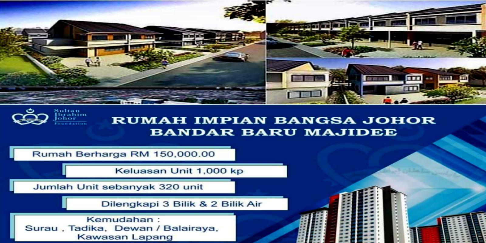 Permohonan Rumah Impian Bangsa Johor 2020 Bandar Baru Majidee My Panduan