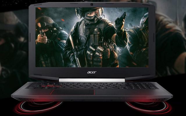 Notebook Gamer Acer VX5 591G 54PG-78BF é bom para jogos