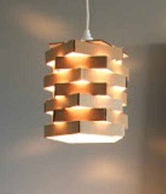 Souvenir pernikahan dari barang bekas ide kreatif murah lucu aneh tapi  bermanfaat lampu dari kardus bekas 5a8786e71a