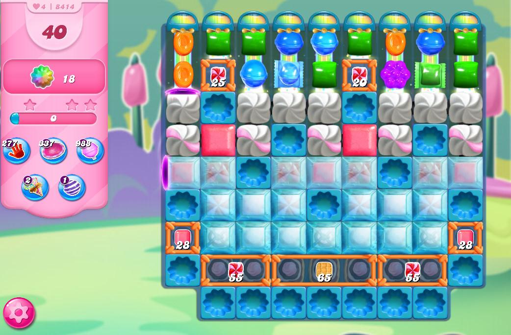 Candy Crush Saga level 8414