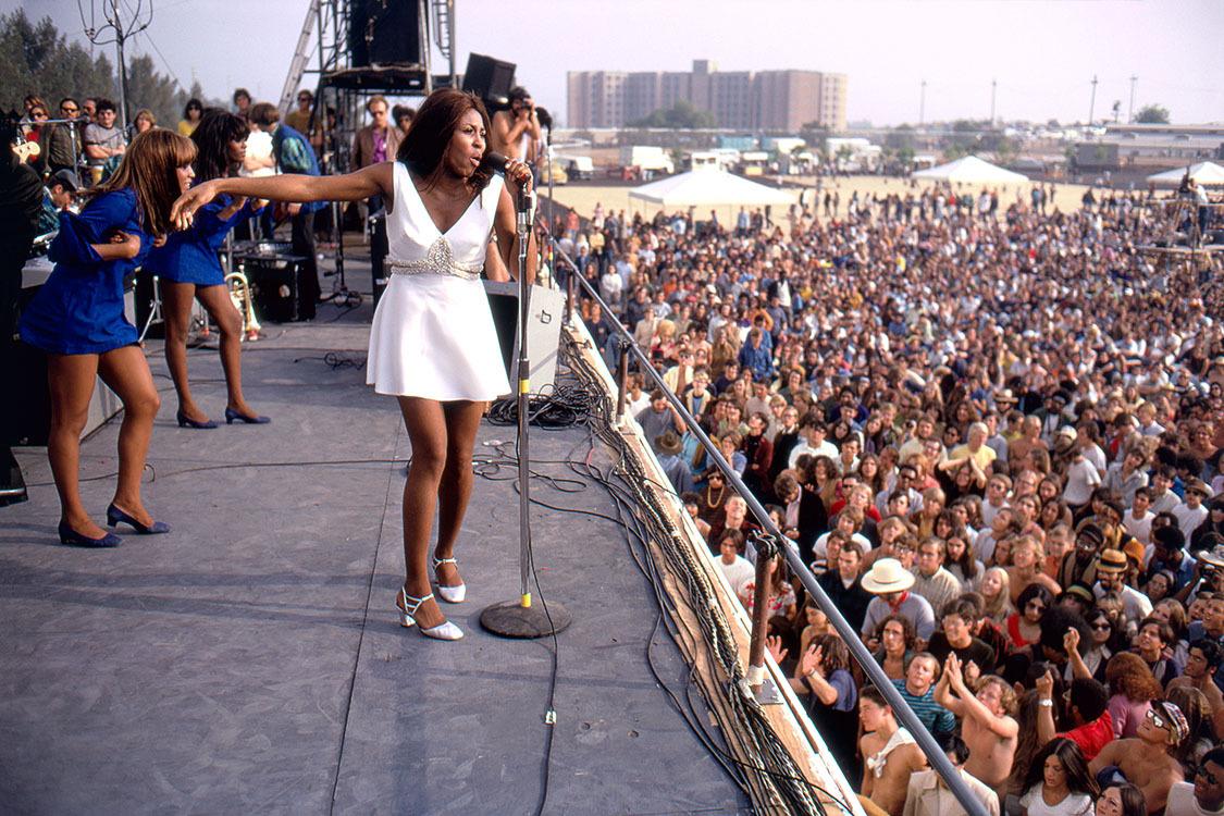 fa8e82c012c3f2 Ike & Tina Turner at the Newport Pop Festival in Northridge, California  June 20, 1969