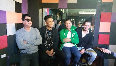 Ogie Alcasid, Dingdong Avanzado, Randy Santiago and Gary Valenciano