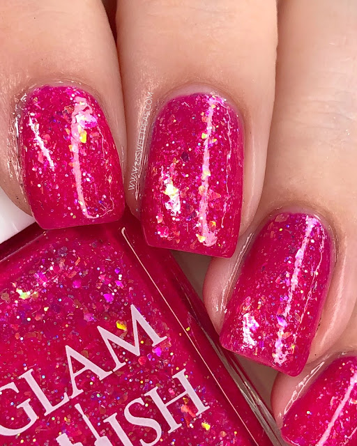 Glam Polish Lots-o'-Huggin' Bear 25 Sweetpeas