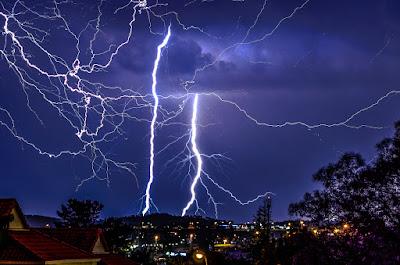 Блискавки над Йоганнесбургом