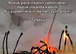 tolstoy sözleri resimli