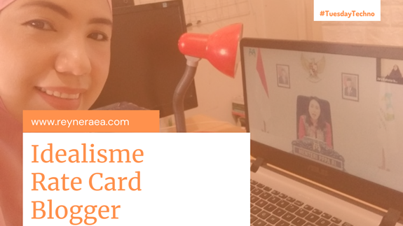 idealis dalam menentukan rate card blogger