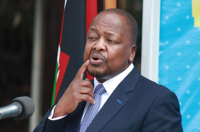Ministry of Health forms an 'Oxygen Task force'  - Mutahi Kagwe photo