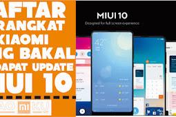 26 Daftar Resmi Xiaomi Yang Mendapat Update MIUI 10