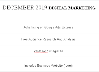 DIGITAL MARKETING - DECEMBER 2019