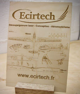 Prize n°6 is a kit of a 2 meters aerobatic sailplane Hexer from Ecirtech !