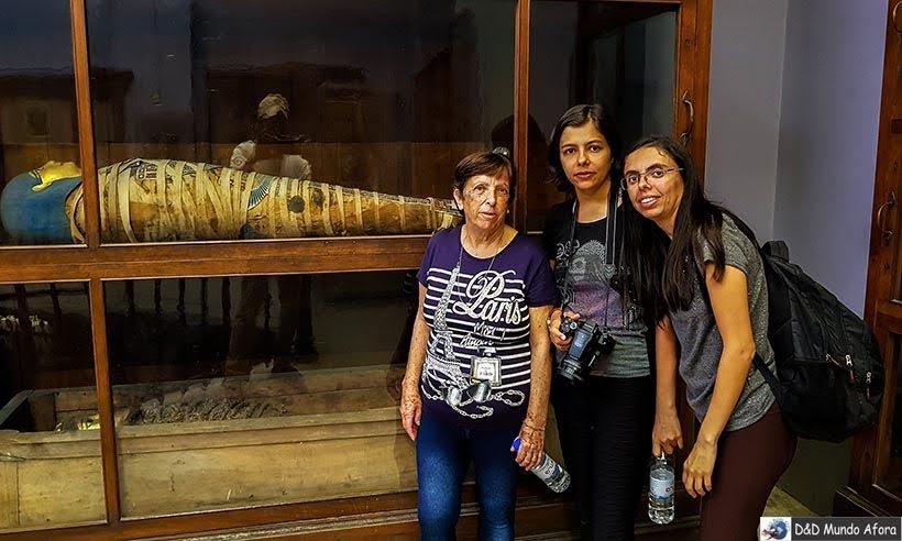 Múmias do Museu do Cairo, Egito