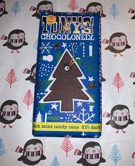 Tony's Chocolonely - Dark Mint Candy Cane
