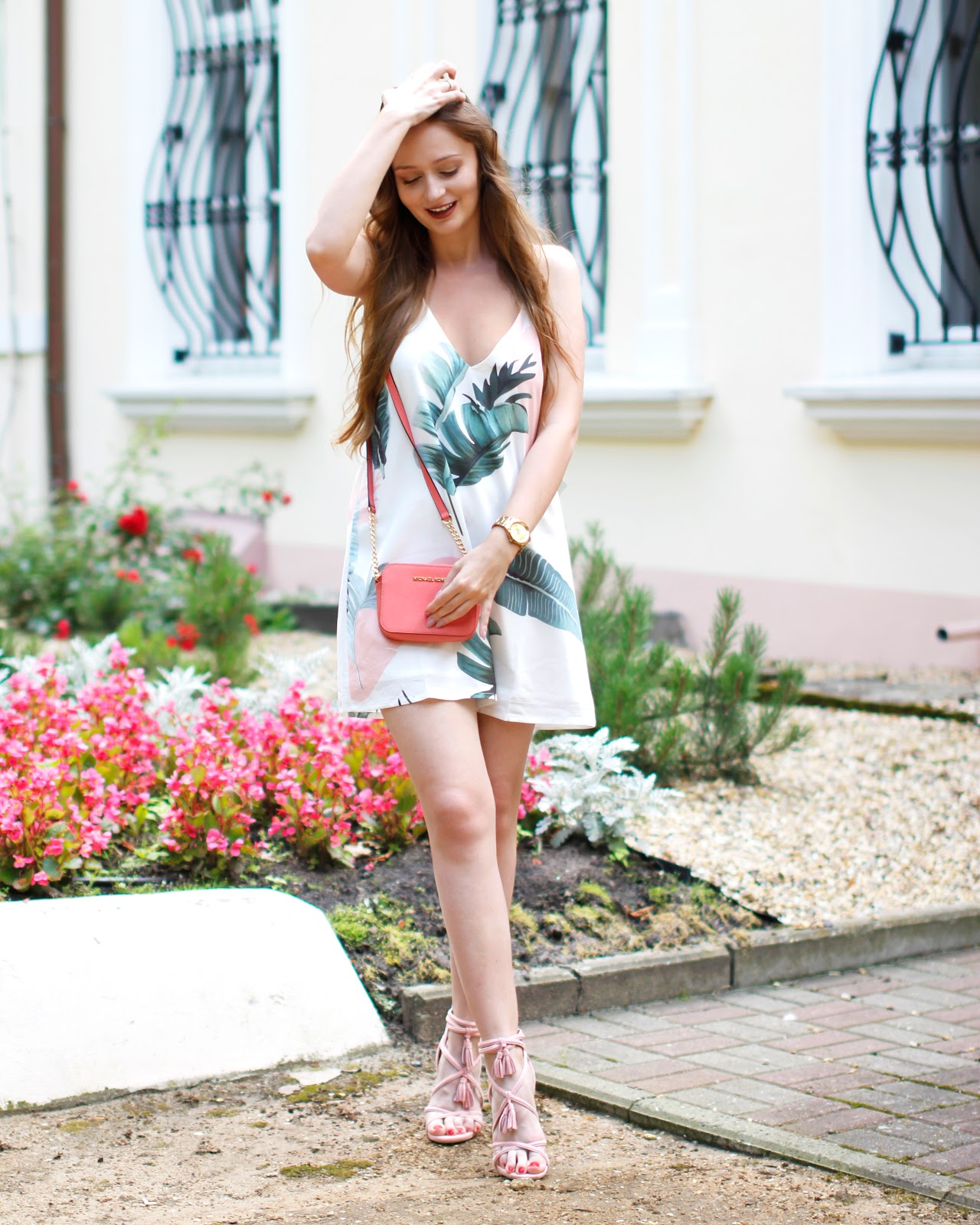 Tropical dress #OUTFIT