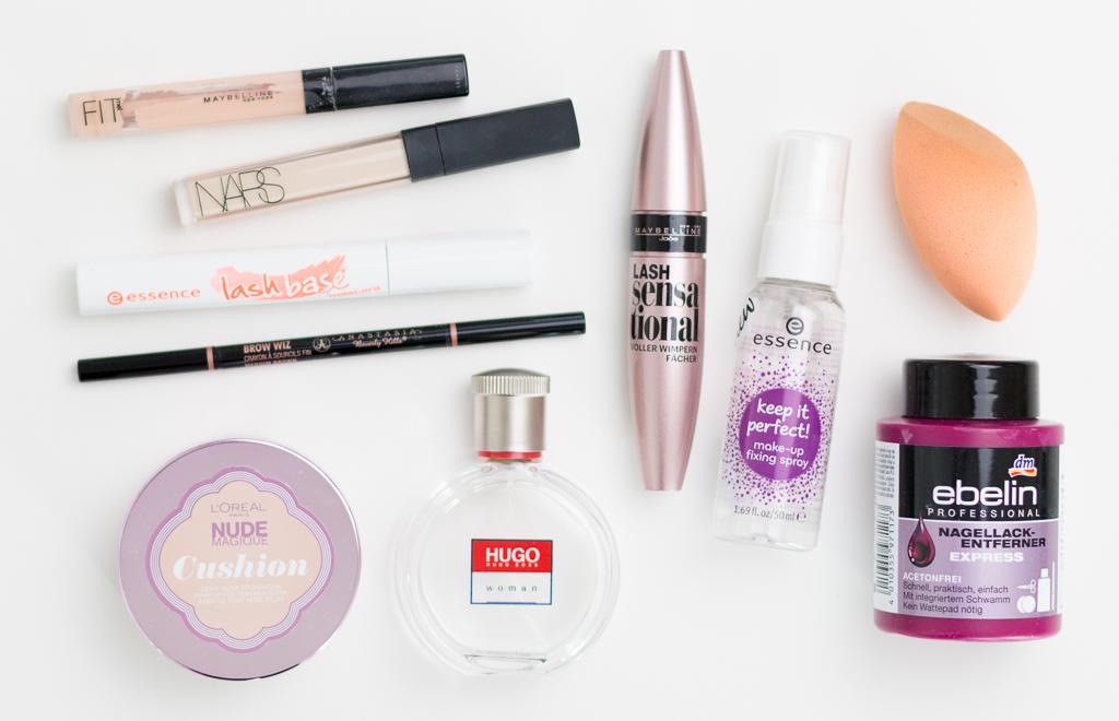 Aufgebrauchte Favoriten Oktober 2016 Dekorative Kosmetik