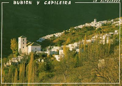 postal, Capileira, Bubión, Granada