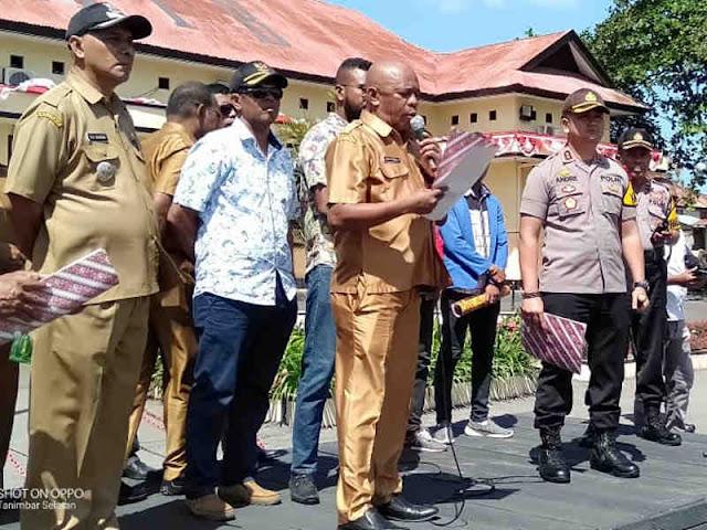 Fitnah Bupati, Ketua DPR dan Kapolres, Warga Tanimbar Tuntut Penjarakan Charles Tanago
