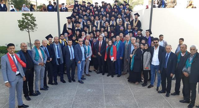 حفل تخرج مسالك الماستر و الإجازة لموسم 2018-2019 Cérémonie de remise des diplomes FSJES Eljadida