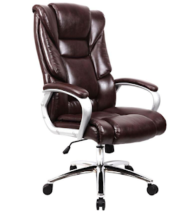 Bahan Material genuine leather Kursi Kantor