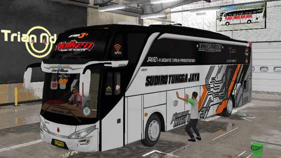Livery Bussid STJ Holken SHD Original