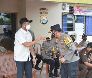 Kapolres Sinjai Pimpin Apel Gelar Pasukan Dalam Rangka Ops Ketupat 2021,di Hadiri Bupati Sinjai