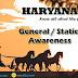 Haryana GK & Static Awareness (PART-II)   Government Exams 2018