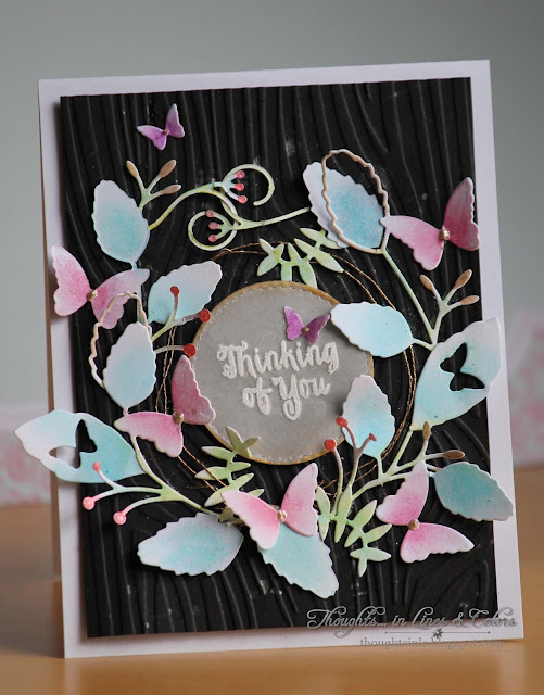 Simon Says Stamp Butterfly Tendrils