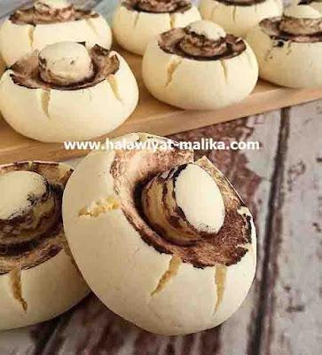 كوكيز الفطر رووعة Cookies champignons