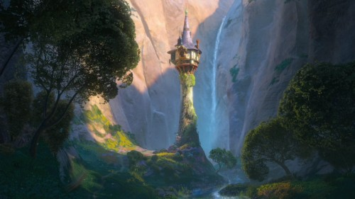 The tower Tangled 2010 movieloversreviews.blogspot.com