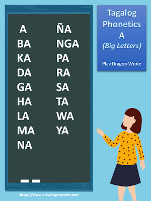 The Tagalog Phonetics in Big Letters - Effective Reading Guide for Kids